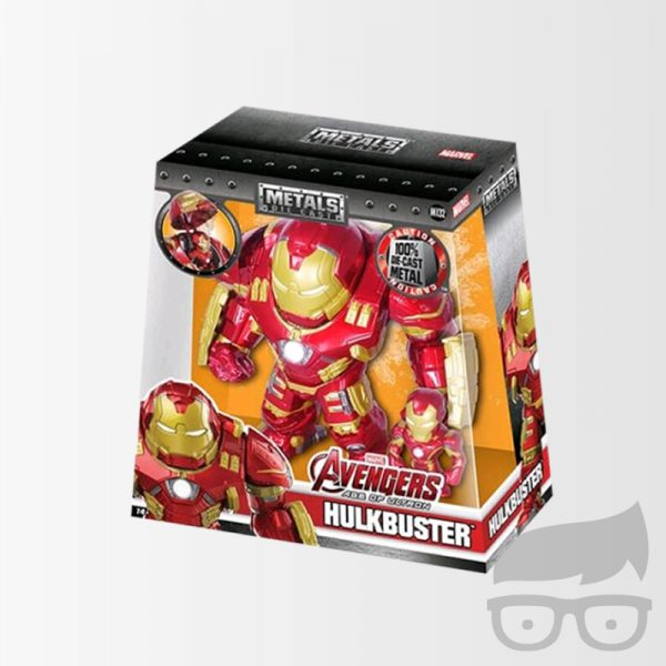 Avengers Hulkbuster and Iron Man Metals Figure 2-Pack 1