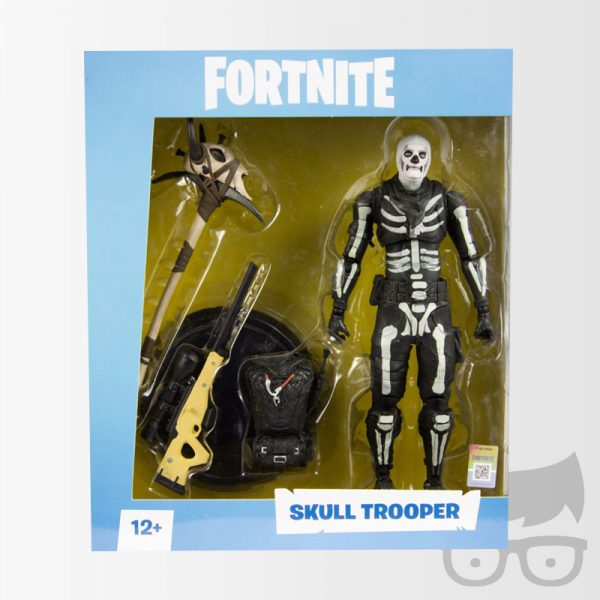 Figura de accion Fortnite Skull Trooper Fortnite Series 1 Skull Trooper 7-Inch Action Figure, Not Mint