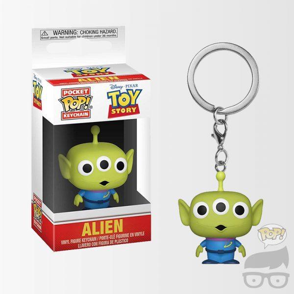 Toy Story Alien Pocket Pop! Key Chain Llavero