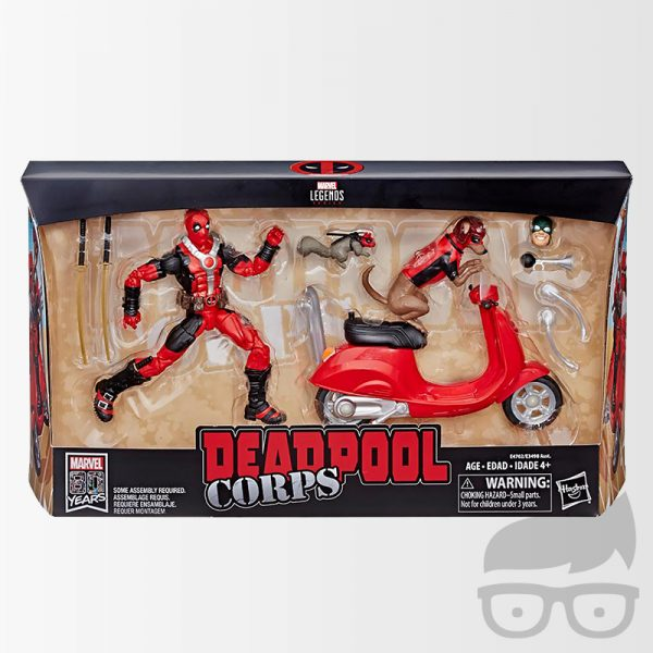 Deadpool Marvel Legends Ultimate 6-Inch Action Figures with Vehicles Wave