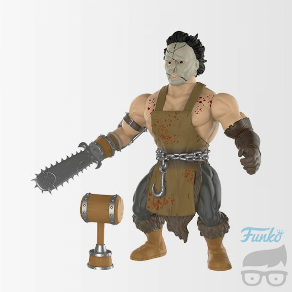 The Texas Chainsaw Massacre Leatherface Savage World Action Figure