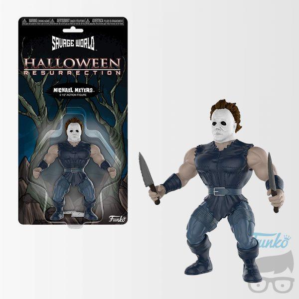 Halloween Michael Myers Savage World Action Figure