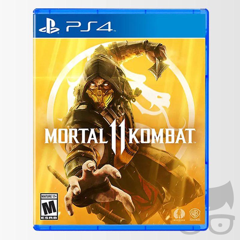 Mortal Kombat 11 Juego cover portada PS4