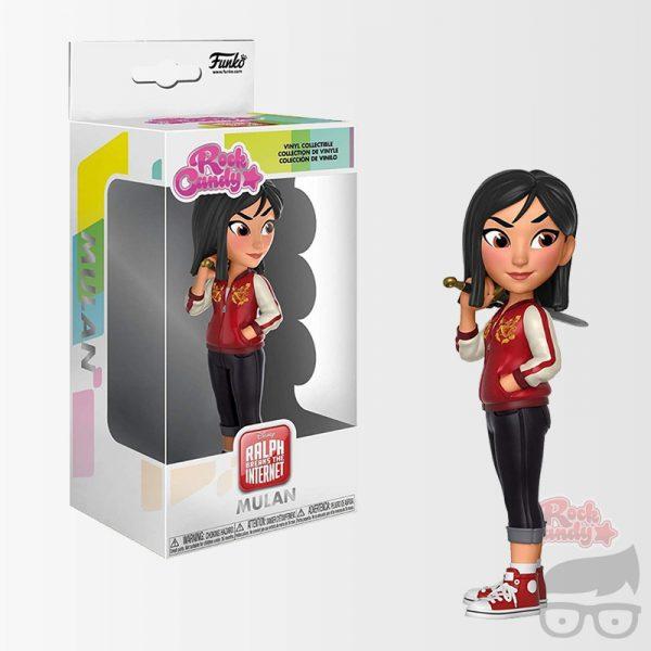 Wreck-It Ralph 2 Comfy Princess Mulan Rock Candy Vinyl Figure