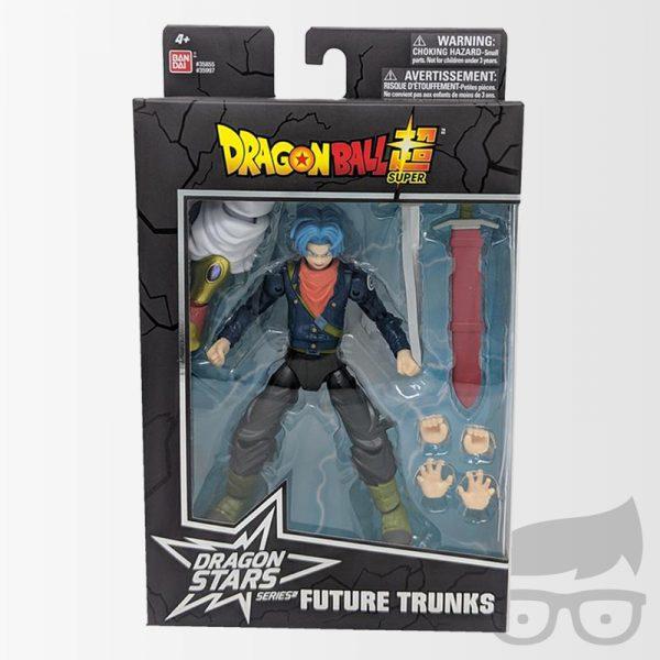 Future Trunks Dragon Ball Stars Action Figure Wave 8 Set Games Geeks
