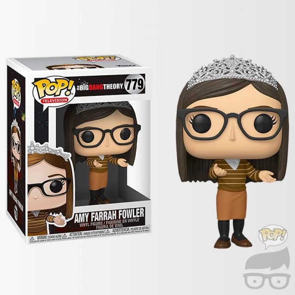 Amy Farrah Fowler 779 Funko Pop Games Geeks
