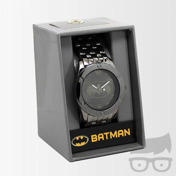 Batman Black Tonal Bracelet Watch Games Geeks