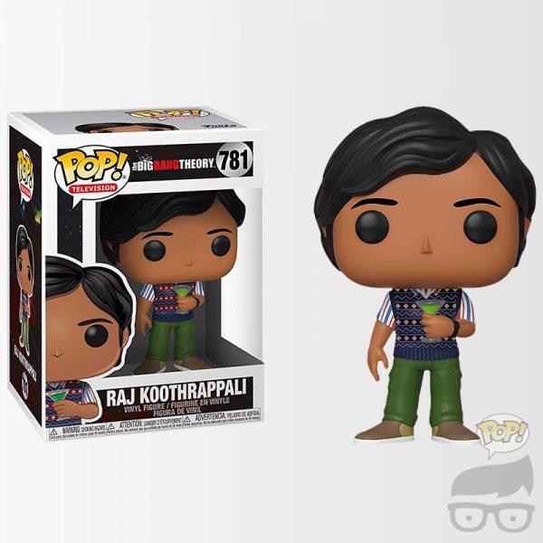 Rajesh Koothrappali 781 Funko Pop Games Geeks