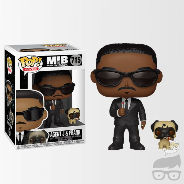 Agent J and Frank 715 Games Geeks Funko Pop