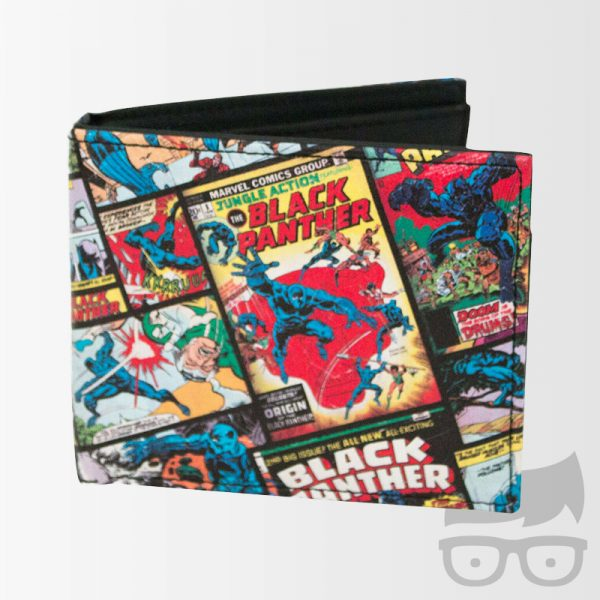 Black Panther Comic Bi-Fold Wallet Games Geeks