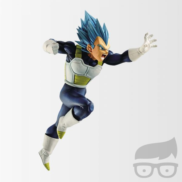 Dragon Ball Super SS God Super Saiyan Vegeta Z- Battle Statue