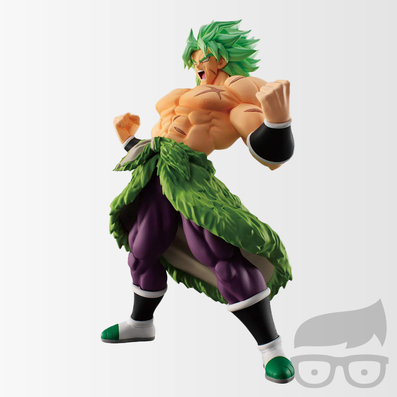 Dragon Ball Super Saiyan Broly Full Power Styling Mini-Figure Games Geeks Bandai